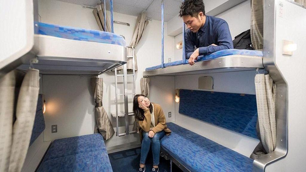 Kreatif! Orang Jepang Sulap Bangkai Kereta Jadi Hotel