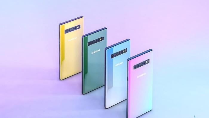 Reka wujud Samsung Galaxy Note 10. (Foto: Phone Arena)