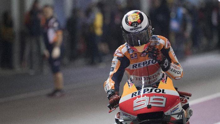 Jorge Lorenzo mendapatkan hasil mengecewakan di dua balapan pertama bersama Repsol Honda. (Foto: Mirco Lazzari gp/Getty Images)
