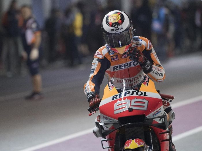 Rider Repsol Honda, Jorge Lorenzo. (Foto: Mirco Lazzari gp/Getty Images)