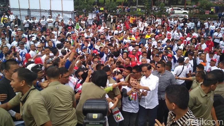 Jokowi: Teriak Pasal 33 UUD tapi Punya Lahan 5 Kali DKI Jakarta