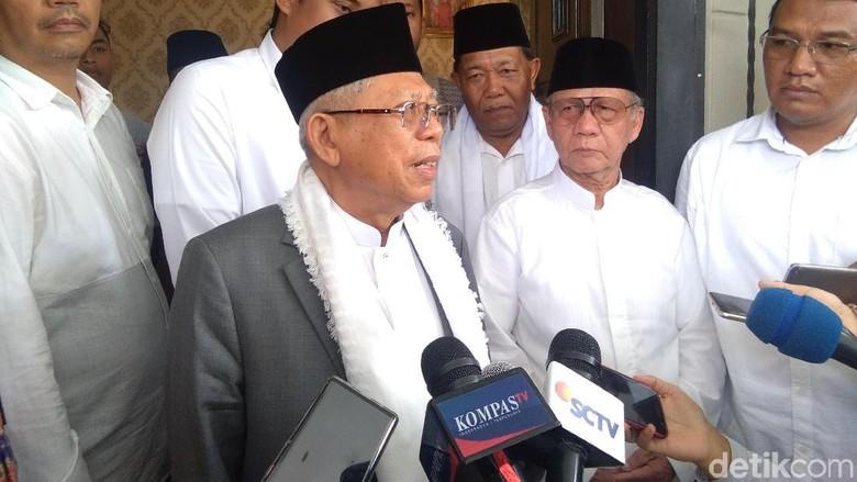 Maruf Amin Banggakan Bebasnya Siti Aisyah Keberhasilan Lobi Pemerintah