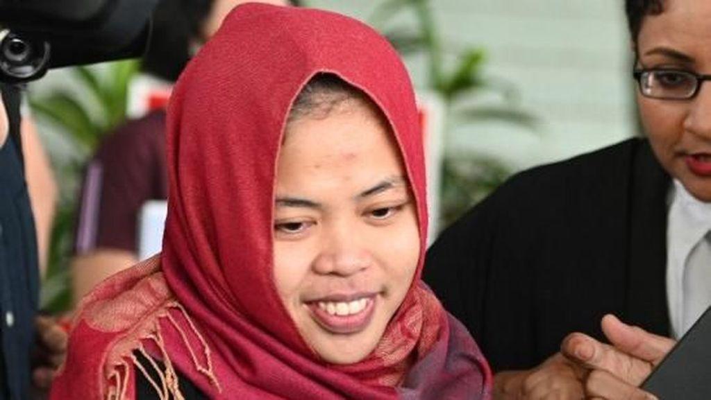 Senyum Cerah Siti Aisyah Usai Bebas dalam Kasus Kim Jong-Nam