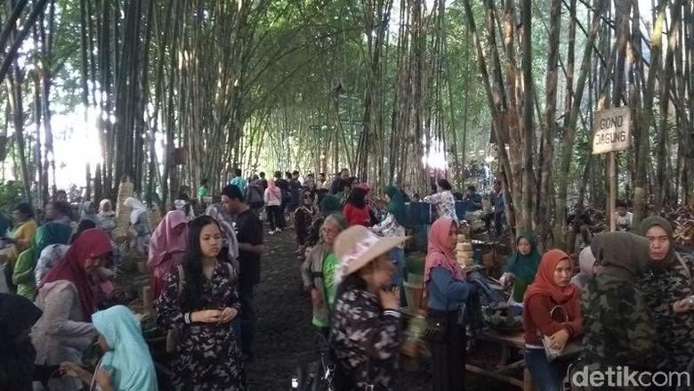 Pasar Papringan Temanggung (Eko Susanto/detikcom)