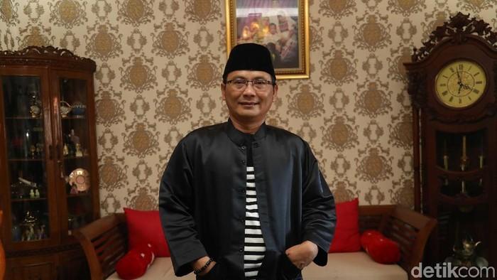 Foto: Ketum FBR Luthfi Hakim (Pradita Utama/detikcom)