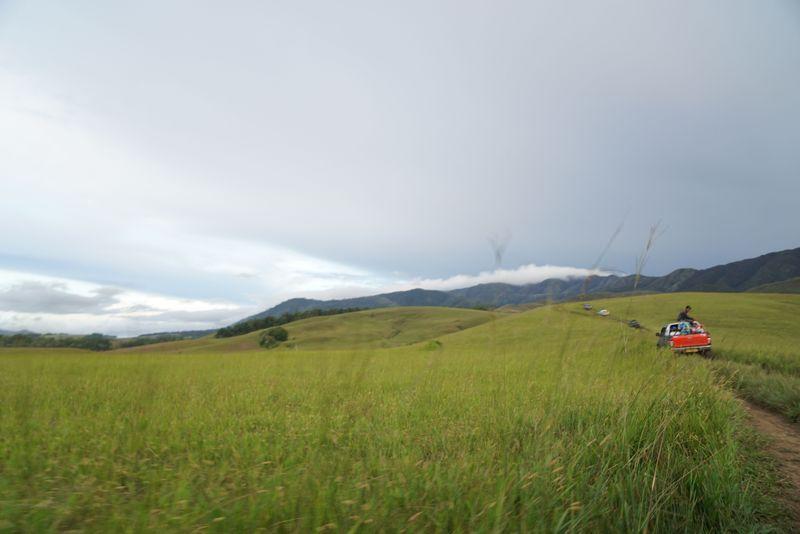 Bukit Sontiri berada di Distrik Kebar, 3 jam dari Manokwari. Dari Distrik Kebar, bukit ini bisa ditempuh selama 30 menit. Medan yang dilalui tidak mudah (Bonauli/detikcom)
