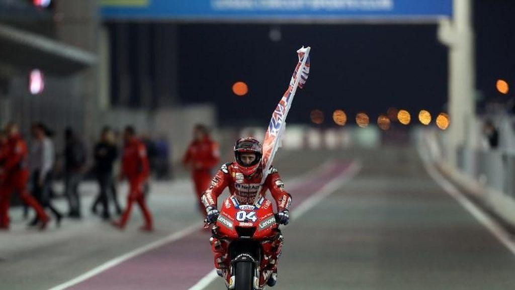 Penasaran Nggak Lihat Duet Dovizioso dengan Motor Marquez di Qatar?
