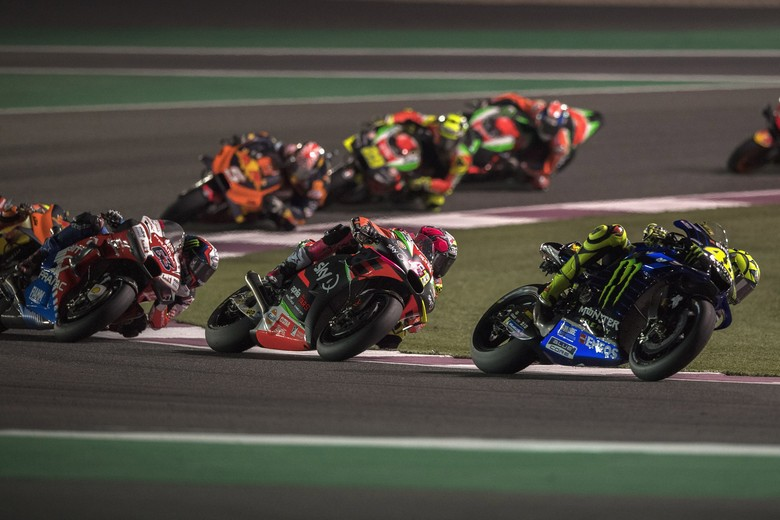 Ilustrasi balapan MotoGP. Foto: Mirco Lazzari gp/Getty Images