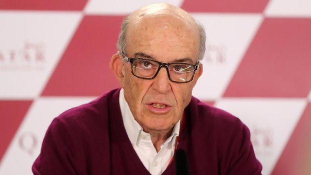 Bos Dorna Carmelo Ezpeleta siap mengorbankan balapan di Spanyol.