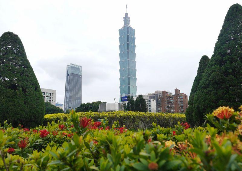 Inilah Taipei 101, gedung pencakar langit setinggi 509 meter (Kurnia/detikcom)