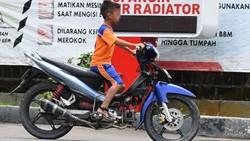 Curhat Polisi Tindak Anak Kendarai Motor