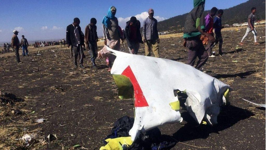 Grafis Detik-detik Akhir Ethiopian Airlines yang Mengkhawatirkan
