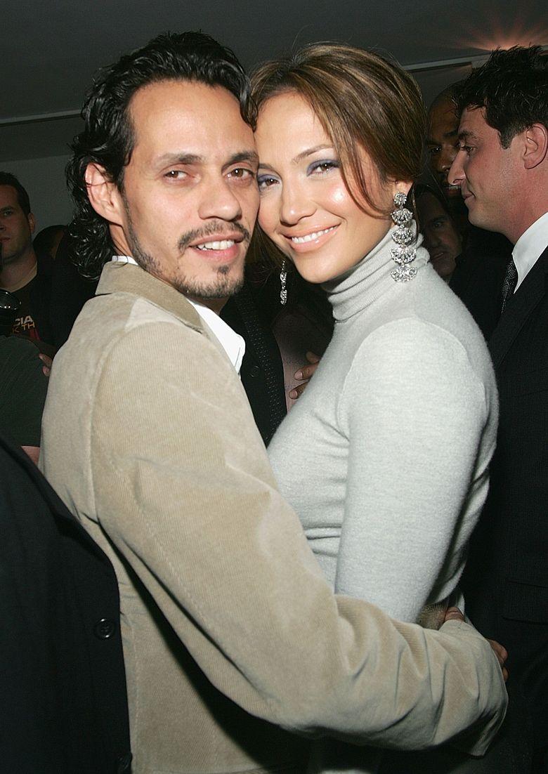Jennifer Lopez sebelumnya masih menjadi istri Marc Anthony.Evan Agostini/Getty Images