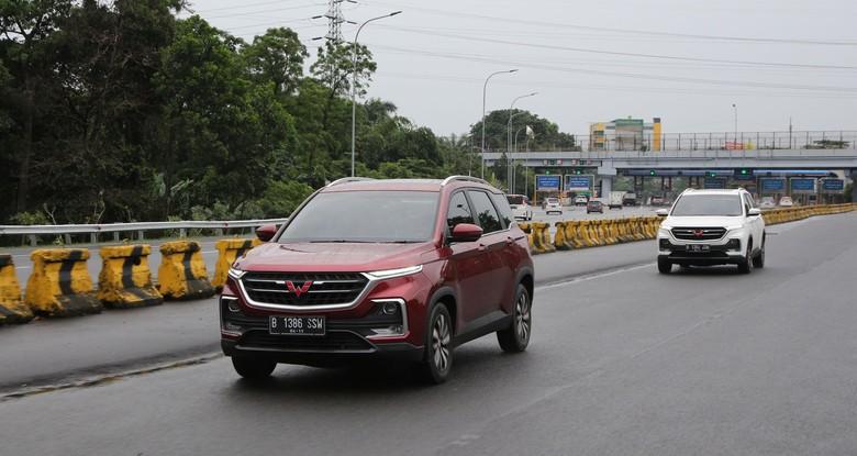 Wuling Almaz. Foto: Dok. Wuling Motors Indonesia