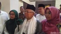 Kejutan Sederhana untuk Maruf Amin di Ultah Ke-76