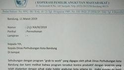 Angkot Protes Program ASN Bandung Wajib Ngantor Pakai Grab