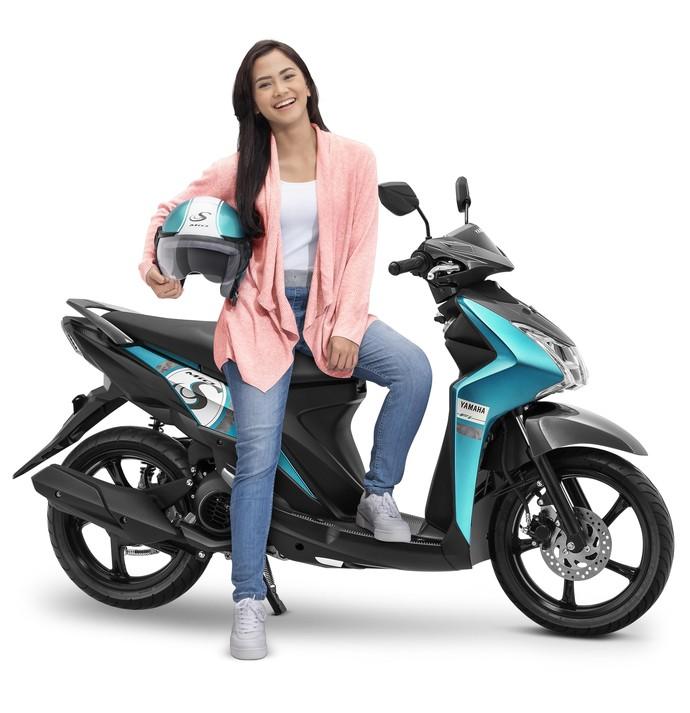 Yamaha kembali mengubah Mio S bersama lima pilihan warna baru yang unik dan menarik. Foto: dok. Yamaha Indonesia