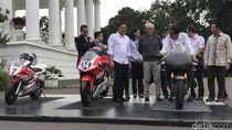 Winglet Bikin Dovizioso Digugat, Jokowi Coba Replika Motor MotoGP
