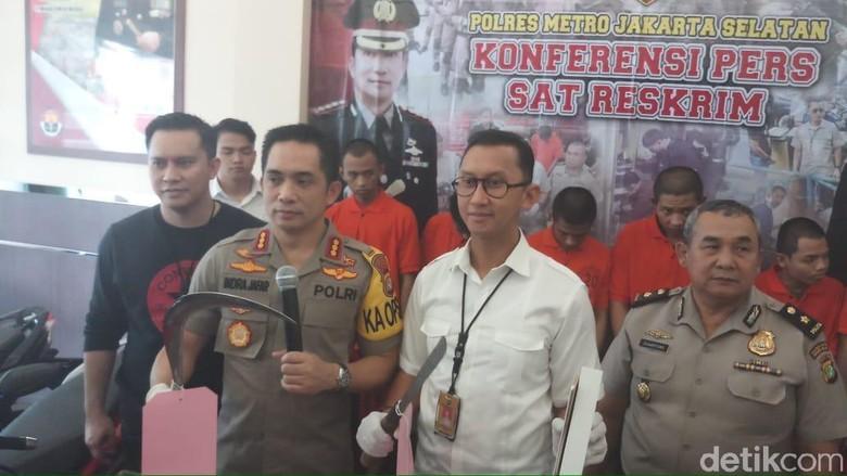 Sempat Kabur ke Lampung, 6 Begal Sadis di Jaksel Ditangkap