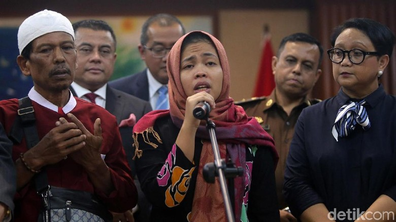Sandiaga soal Siti Aisyah: Kebetulan Kayak Pak Prabowo soal Wilfrida