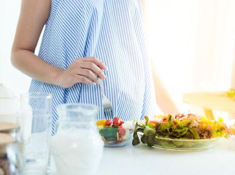 Ilustrasi menu sarapan ibu hamil/