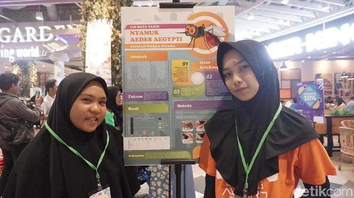 Penelitian warna piyama yang lebih disukai nyamuk aedes aegypti. Foto: Widiya Wiyanti/detikHealth