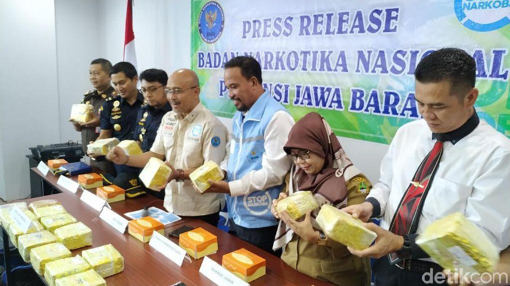 BNN Selidiki Sabu 20 Kg di Sukabumi dengan Kasus Zul Zivilia