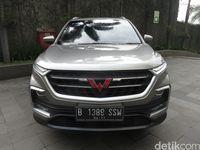 Wuling Almaz Berbaju Chevrolet di Thailand