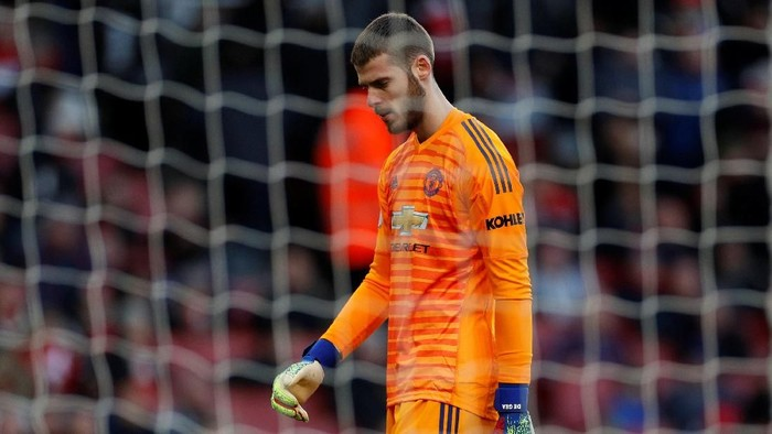 David de Gea. Foto: Reuters/John Sibley