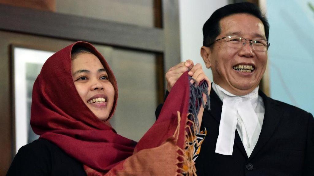 Netizen Sambut Kepulangan Siti Aisyah