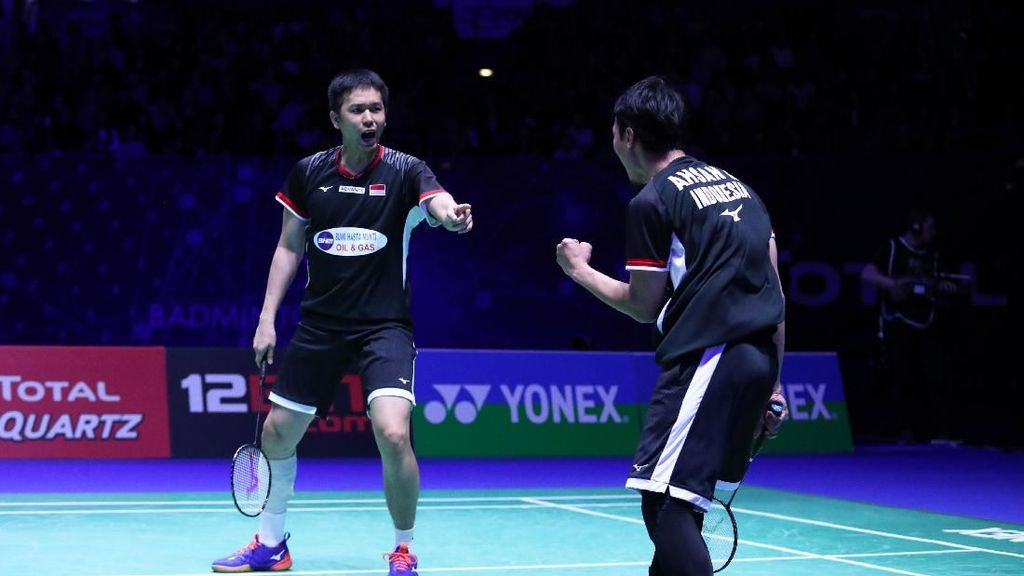 Hendra/Ahsan Juara, Indonesia Dua Gelar di New Zealand Open 2019