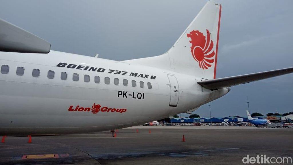 Boeing 737 MAX Milik Lion Air di Thailand Dikandangkan Mulai Besok