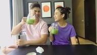 Punya Banyak Manfaat, Glenn dan Chelsea Olivia Minum Jus Seledri 7 Hari