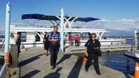 Wisata bahari di Taiwan, cobalah ke Dapeng Bay di Pingtung yang populer. Traveler bisa menjajal PengFu Sightseeing Yacht, berlayar mengelilingi laguna terbesar di pesisir barat daya Taiwan naik yacht atau kapal pesiar kecil (Kurnia/detikcom)