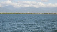 Dapeng Bay ini bisa dibilang laguna terbesar di pesisir barat daya Taiwan. Luas perairannya sekitar 532 hektar, dengan kedalaman 2 sampai 6 meter (Kurnia/detikcom)