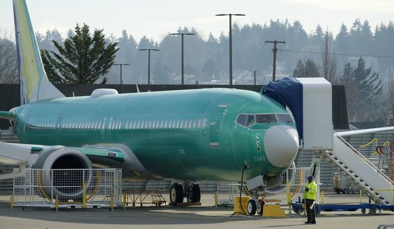 Boeing Temukan Cacat di Sejumlah Sayap Pesawatnya, Termasuk 737 MAX 8