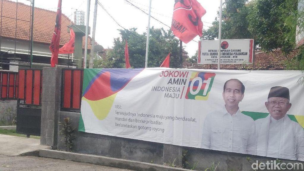 Parpol Koalisi Bantah Tak Kompak Dukung Jokowi-Maruf di NTB
