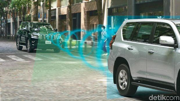 Fitur keamanan Toyota Safety Sense sudah dipasang di Land Cruiser Prado
