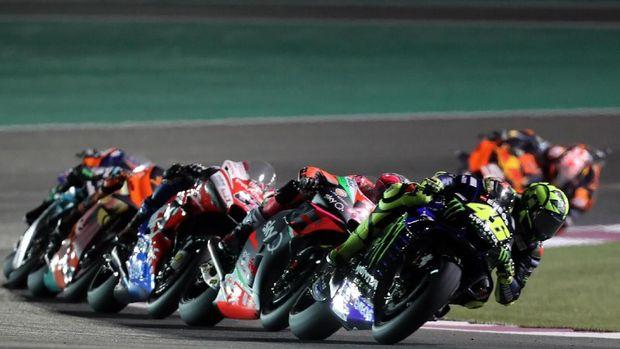 MotoGP Qatar dibatalkan karena virus corona.