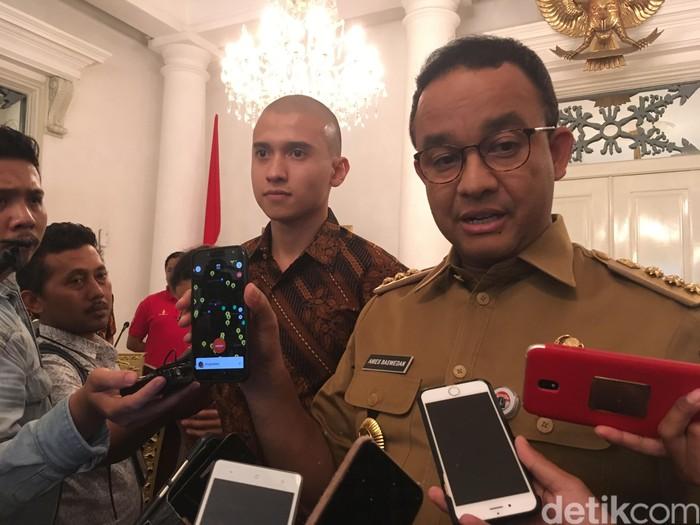 Gubernur DKI Jakarta Anies Baswedan (Foto: Arief/detikcom)