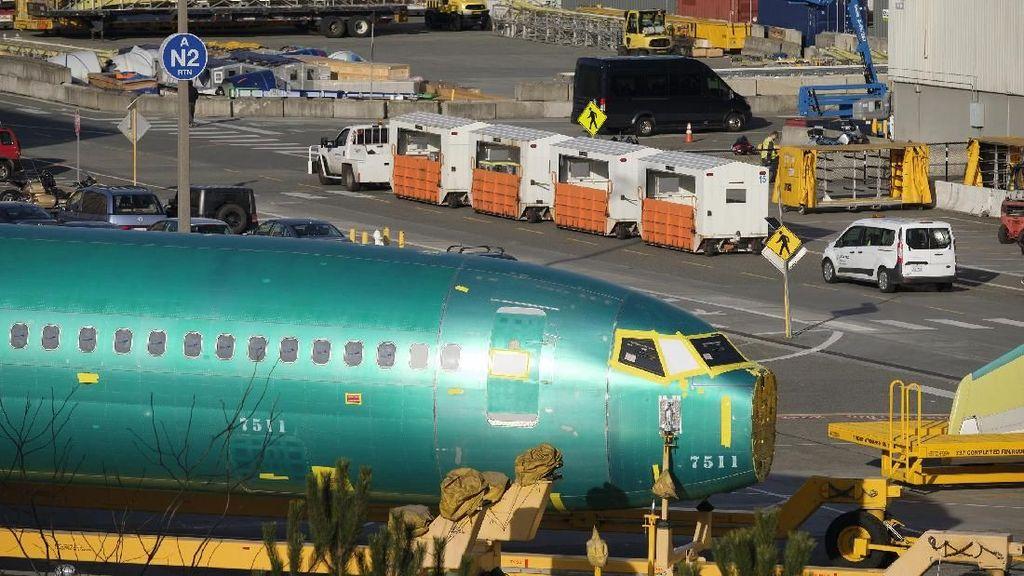 Melihat Pabrik Boeing, Tempat 737 Max 8 Dibuat