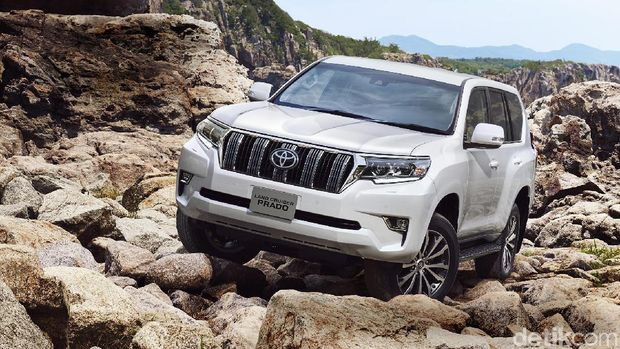 Ilustrasi Land Cruiser Prado model 2017