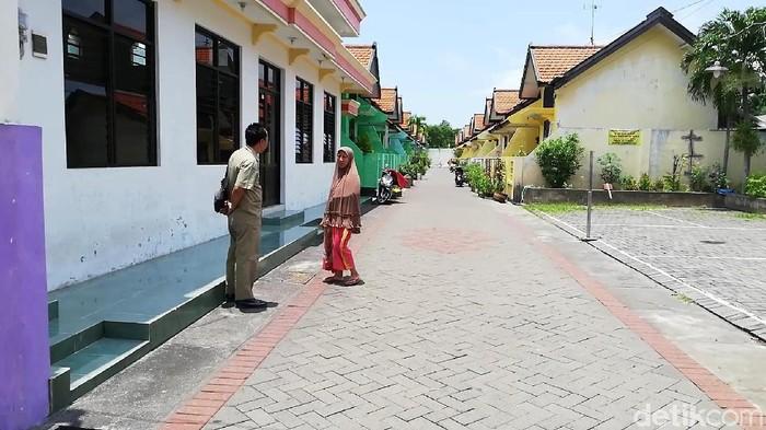 Perumahan atau kampung yang dihuni puluhan janda/Foto: Muhajir Arifin