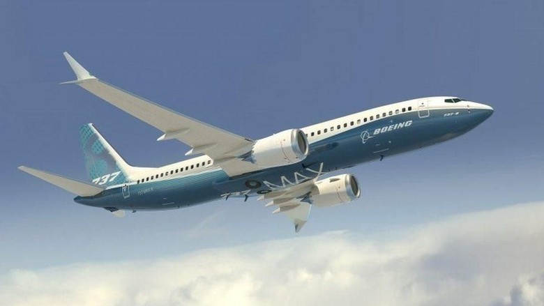 Ilustrasi Boeing 737 MAX 8 (BBC World)
