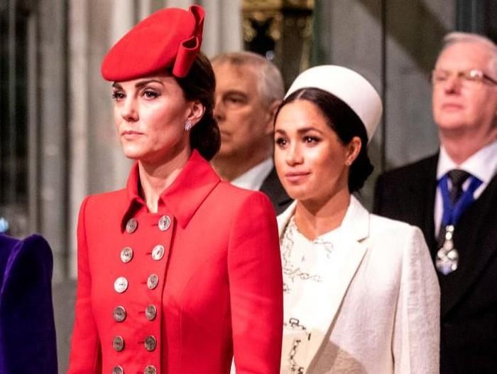 Kate Middleton dan Meghan Markle (Foto: Getty Images)