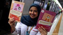 Aksi Srikandi Cantik Kampanye Pelecehan Seksual di KRL