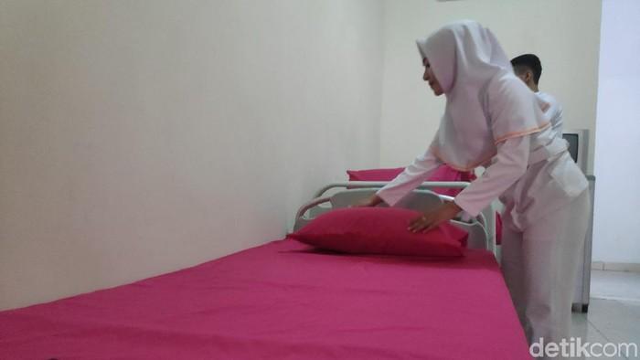 RSKD Dadi Prov Sulsel menyiapkan kamar VIP untuk caleg stres pasca-Pemilu 2019. (Taufiq/detikcom)