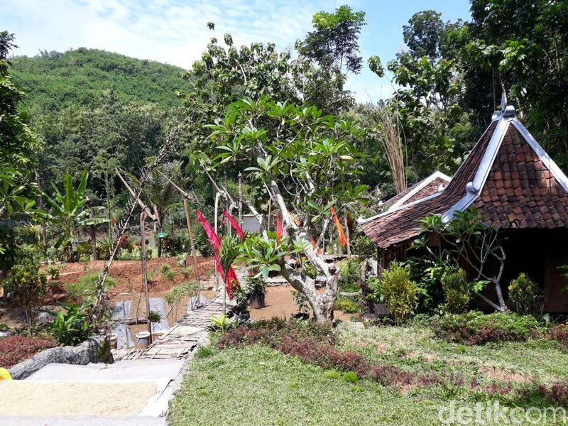 Wulenpari adalah desa wisata di pinggir Sungai Oya, Desa Beji, Kecamatan Patuk, Gunungkidul. Jaraknya sekitar 25 Km dari Kota Yogyakarta. (Pradito Rida Pertana/detikcom)
