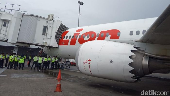 Foto: Boeing 737 Max 8 milik Lion Air (Herdi Alif Alhikam)