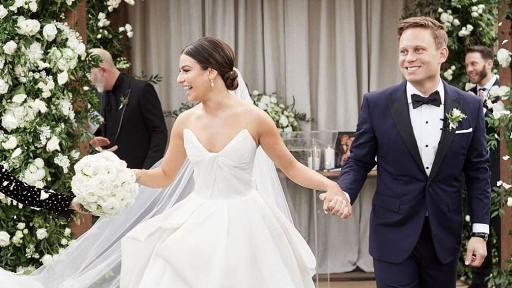 Pelajaran soal Move On dari Cerita Pernikahan Lea Michele